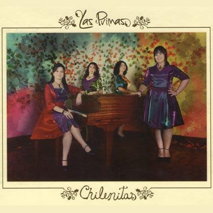Portada del disco «Chilenitas» de Las Primas.