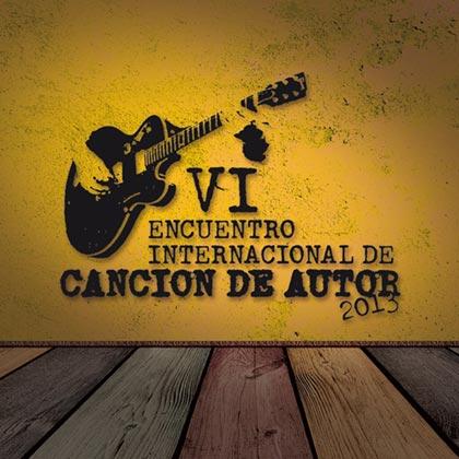 Cartel del VI Encuentro Internacional de Canción de Autor (EICA) 2013, Ecuador.