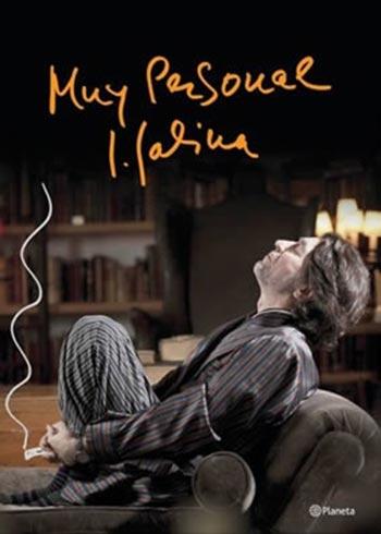 Portada del libro «Muy personal» de Joaquín Sabina.