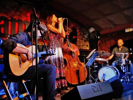 Gemma Humet Quartet en el Jamboree © Carles Gracia Escarp