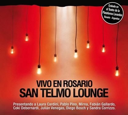 Portada del disco «Vivo en Rosario» de San Telmo Lounge.