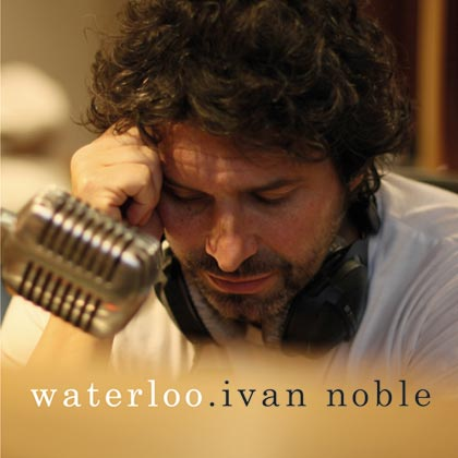 Portada del single «Waterloo» de Iván Noble.