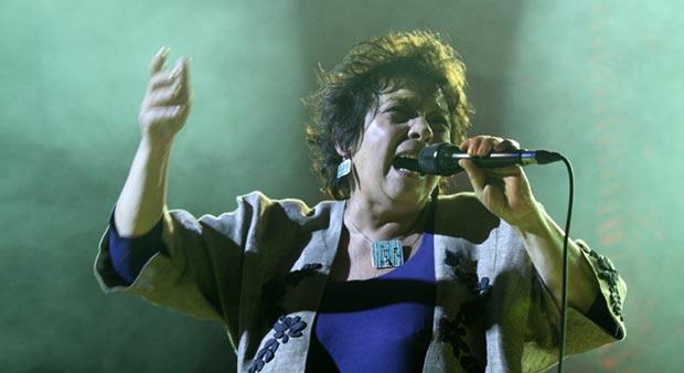 Lliliana Herrero presentó «Maldigo» en el teatro Coliseo de Buenos Aires. © Seba Tornamira