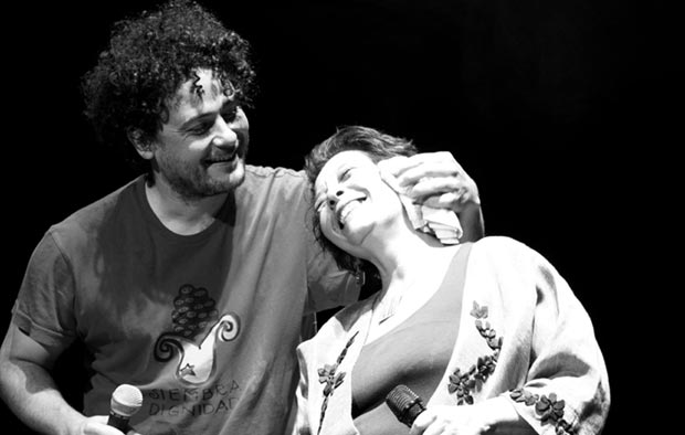 Liliana Herrero con Raly Barrionuevo. © Seba Tornamira