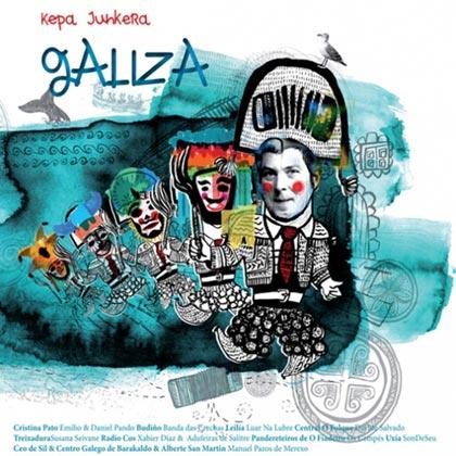 Portada del disco «Galiza» de Kepa Junkera.