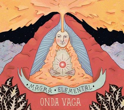 Portada del disco «Magma elemental» de Onda Vaga.