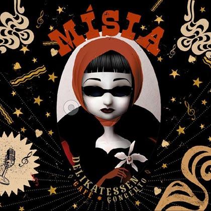 Portada del disco «Delikatessen Café Concerto» de Mísia.
