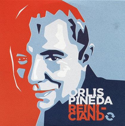 Portada del disco «Reiniciando» de Orlis Pineda, basada en una fotografía de Juan Miguel Morales.