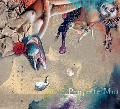 Portada del disco «Col•lecció de Satèl•lits» de Projecte Mut.