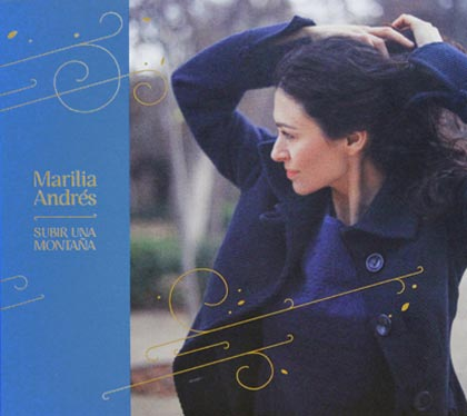 Portada del disco «Subir una montaña» de Marilia Andrés.