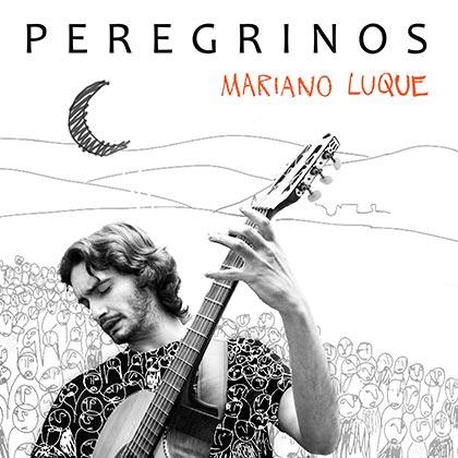 Portada del disco «Peregrinos» de Mariano Luque.