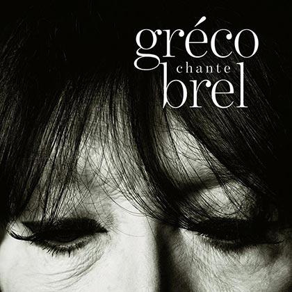 Portada del disco «Gréco chante Brel» de Juliette Gréco.