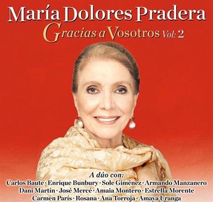 Portada del disco «Gracias a vosotros. Vol. 2» de María Dolores Pradera.