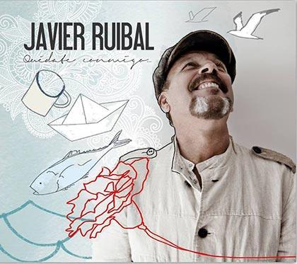 Portada del disco «Quédate Conmigo» de Javier Ruibal.