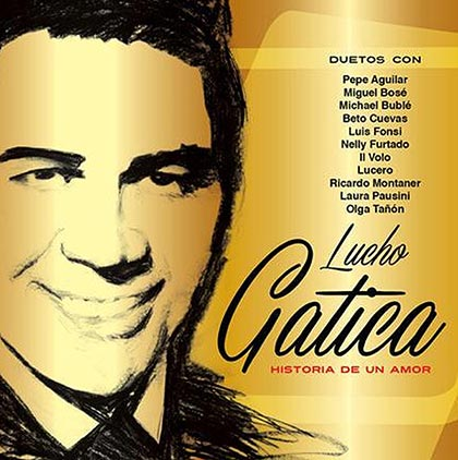 Portada del disco «Historia de un amor» de Lucho Gatica.