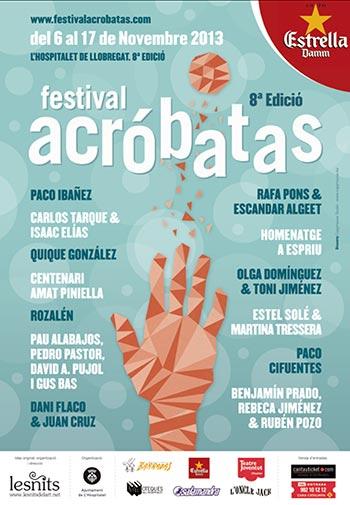 Cartel del 8 Festival Acróbatas de L