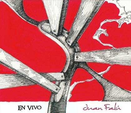 Portada del disco «En vivo» de Juan Falú.