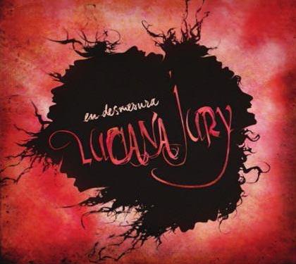 Portada del disco «En desmesura» de Luciana Jury.