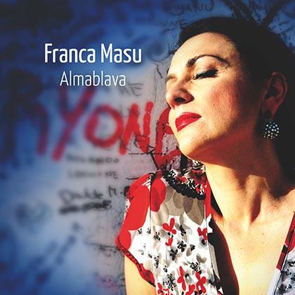 Portada del disco «Almablava» de Franca Masu.