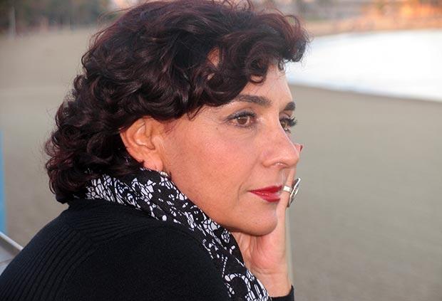 Franca Masu: «Mi gran sueño, desde siempre, es cantar Serrat en italiano y cantar algo de Tenco, Paoli y Modugno en catalán». © Manel Gausachs