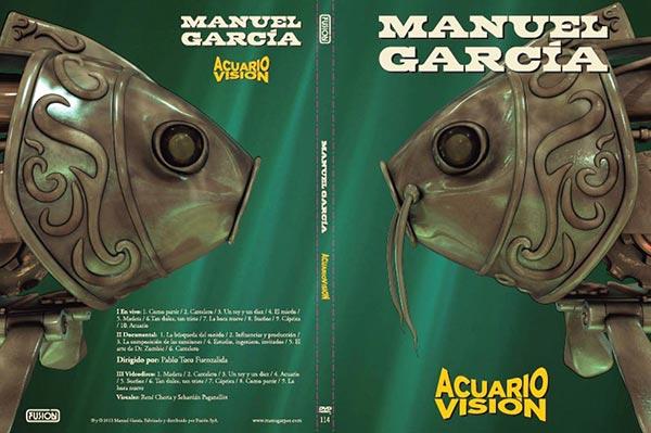 Carátula del DVD «AcuarioVisión» de Manuel García.
