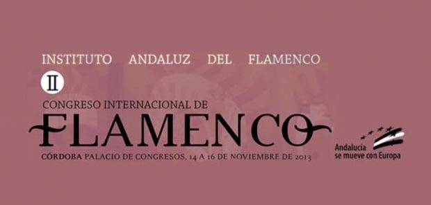 Cartel del II Congreso Internacional de Flamenco y la Feria de Industrias Culturales Flamencas.