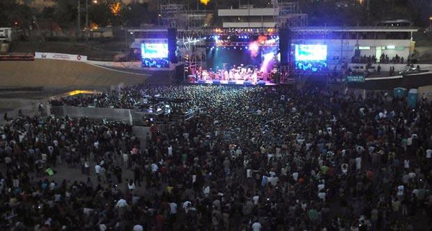 El 14 de abril de 2013 se celebró la primera edición del festival «Un canto para no olvidar». © UPI