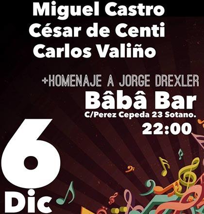 Cartel del concierto Viernes de Cantautar.