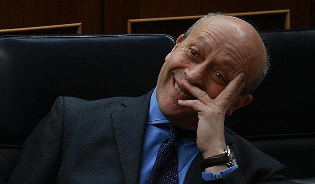 José Ignacio Wert, Ministro de de Educación, Cultura y Deportes.