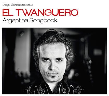 Portada del disco «Argentina Songbook» de Diego García.