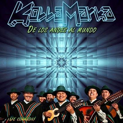Portada del disco «De Corazón» de KollaMarka.