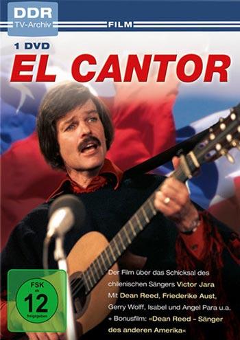 Portada del DVD de «El cantor de Dean Reed».