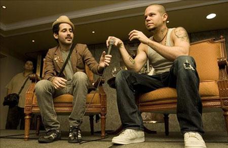 Calle 13 presentan «Multi_Viral». © EFE