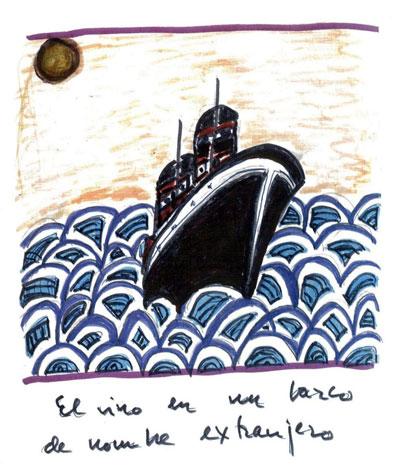 Ilustración del nuevo libro de Joaquín Sabina «Muy personal». © Joaquín Sabina