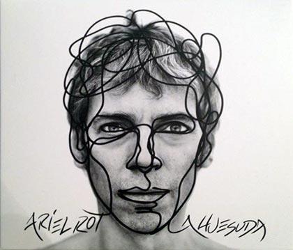 Portada del disco «La huesuda» de Ariel Rot.
