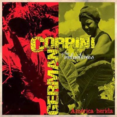 Portada del disco «América herida» de Germán Coppini.