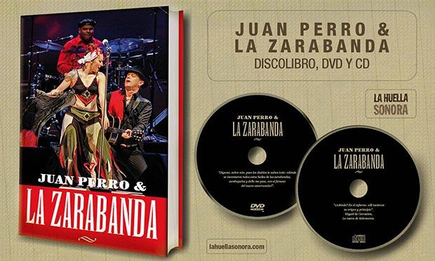 Libro-CD-DVD Juan Perro & La Zarabanda