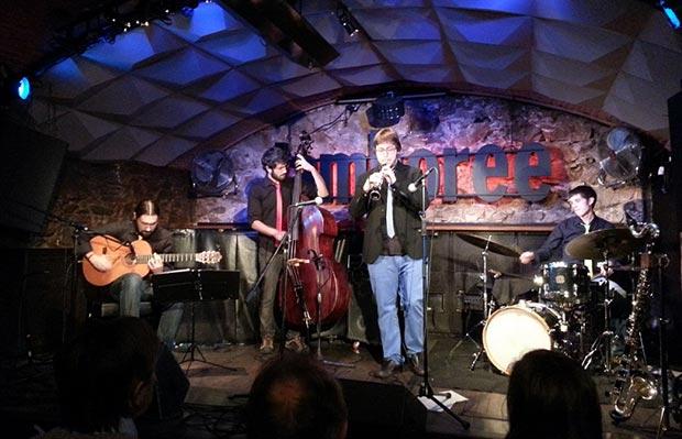 Inxa Impro Quartet en directo en la Sala Jamboree © Pol Ducable