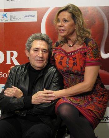 Miguel Ríos y Mari Cruz Soriano.