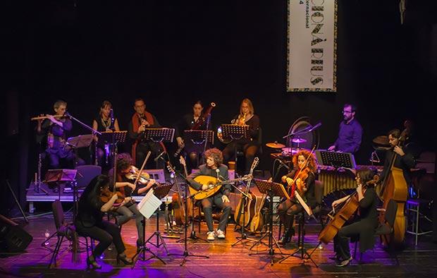 La Eduard Iniesta Ensemble. © Xavier Pintanel
