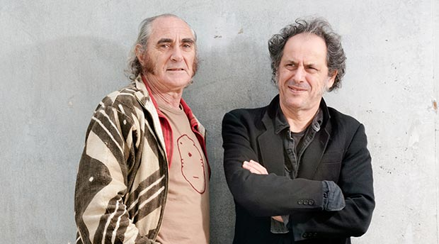Pau Riba i Pascal Comelade © Francesc Meseguer