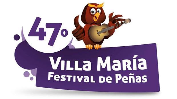 Logo del 47 Festival Nacional de Peñas de Villa María 2014.