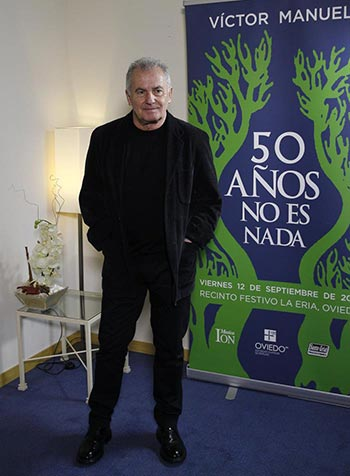 Víctor Manuel © EFE