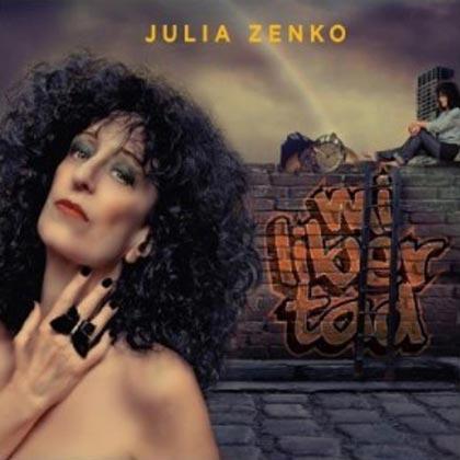 Portada del disco «Mi libertad» de Julia Zenko.
