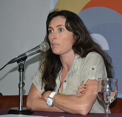 María Elena Troncoso, titular de Acción Federal de la Secretaría de Cultura de la Nación. © Secretaría de Cultura de la Presidencia de la Nación