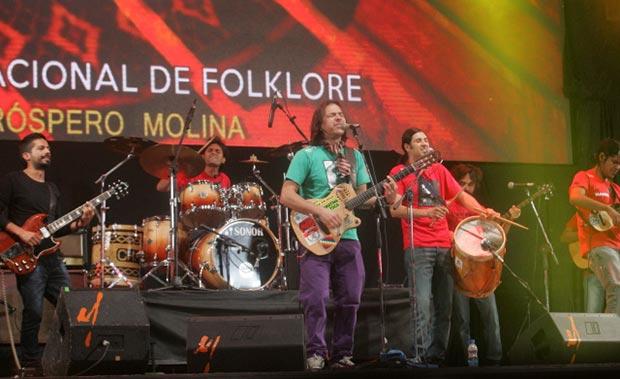 Jorge Rojas fue el número central de la primera luna de Cosquín. © Carlos Paul Amiune