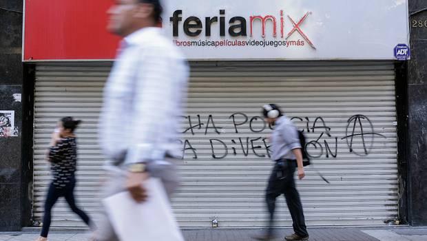 Una de las tiendas de Feriamix. © Agencia UNO