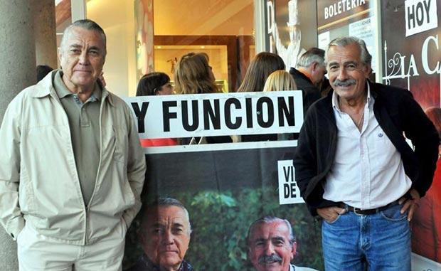 Eduardo «Polo» Román y Ricardo Francisco «Pancho» Figueroa. © Daniel Muñoz/Télam