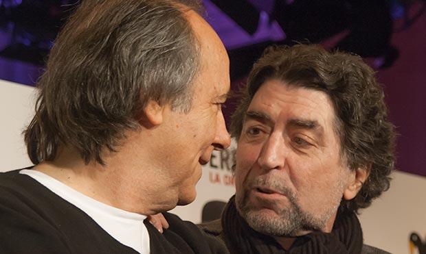 Joan Manuel Serrat y Joaquín Sabina: al parecer no habrá una tercera parte. © Xavier Pintanel