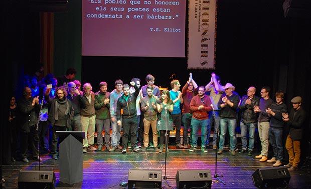 Homenaje Popular a los poetas Bartomeu Rosselló-Pòrcel y Marià Villangómez